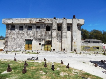 Figure 25: Power Station Building (Property No. 354), Midway Atoll, Sand Island (April 13, 2015)